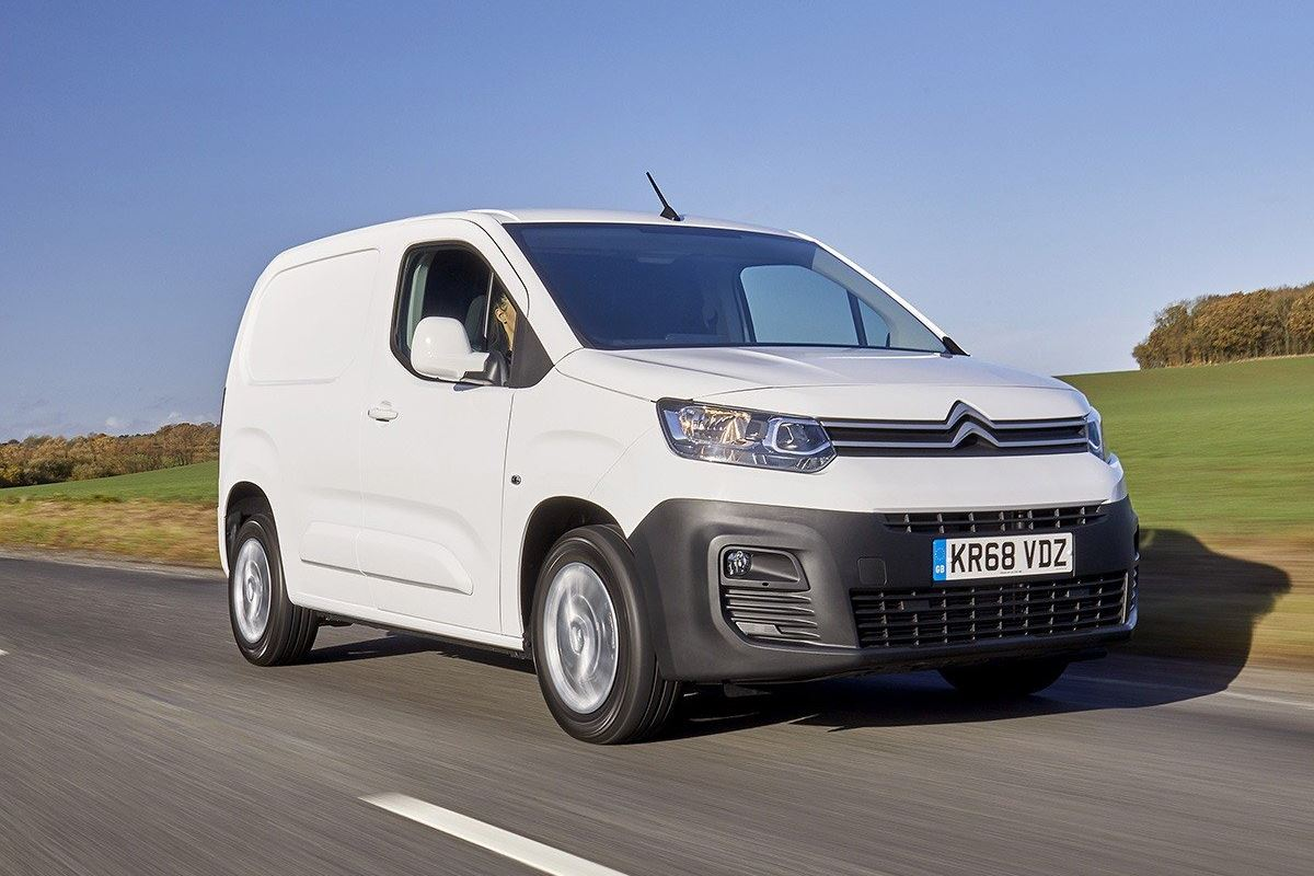 Best Small Van for Campervan Conversion probably the Berlingo which you can see here