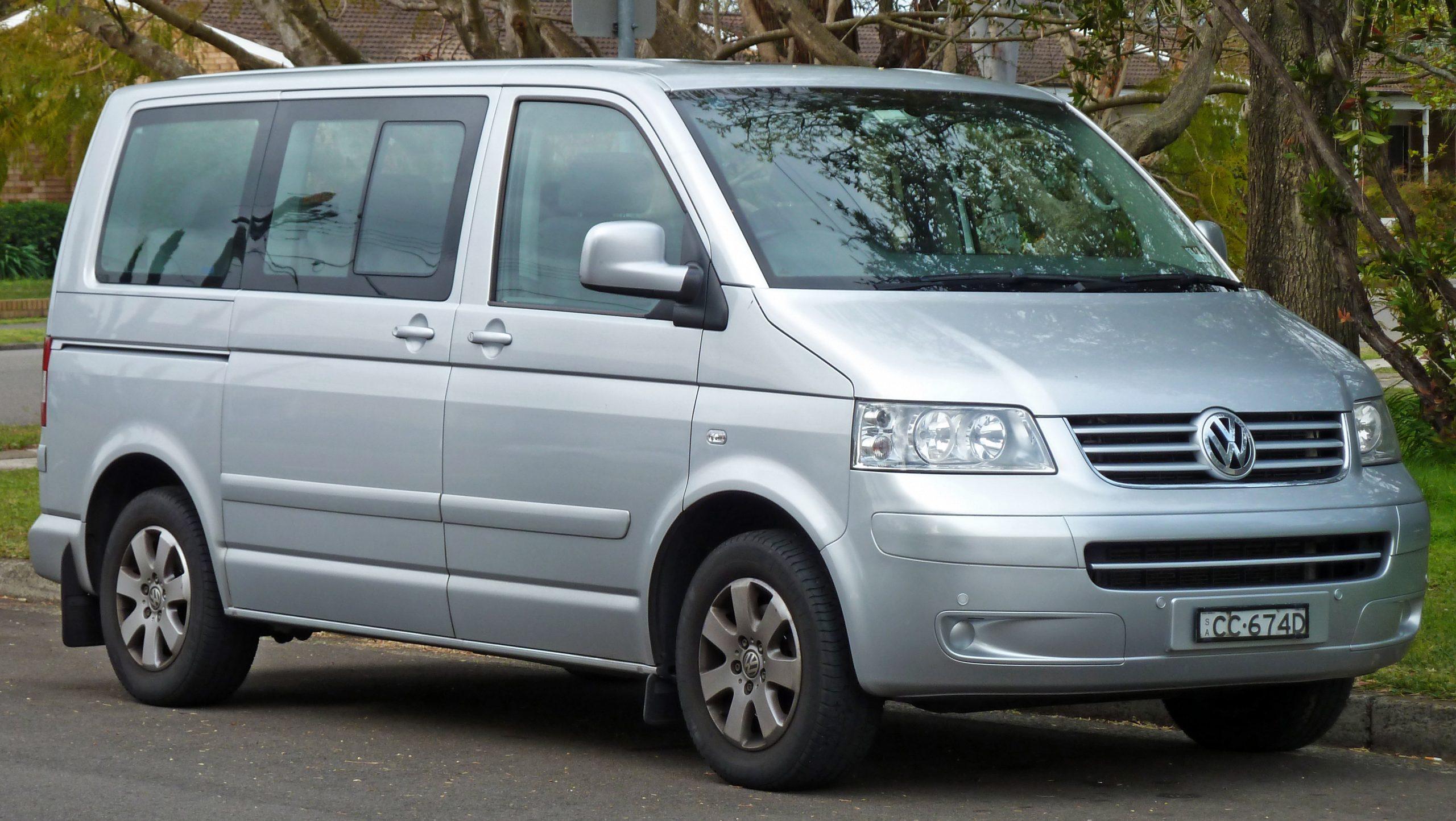 Is this silver Volkswagen transporter the best van for camper conversion