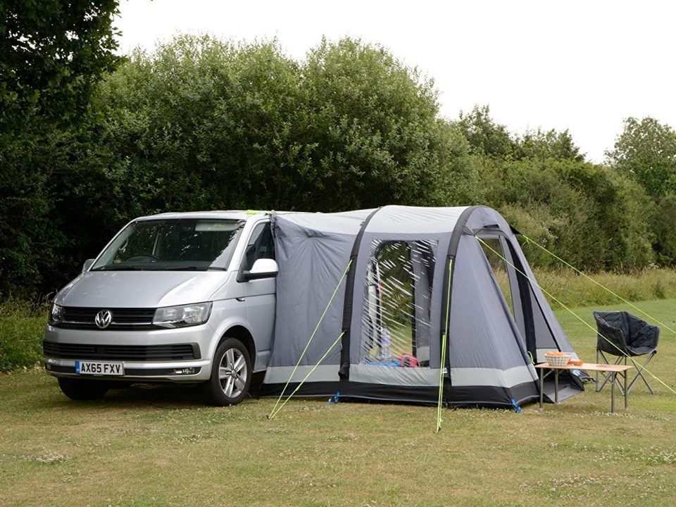 travel pod campervan awning