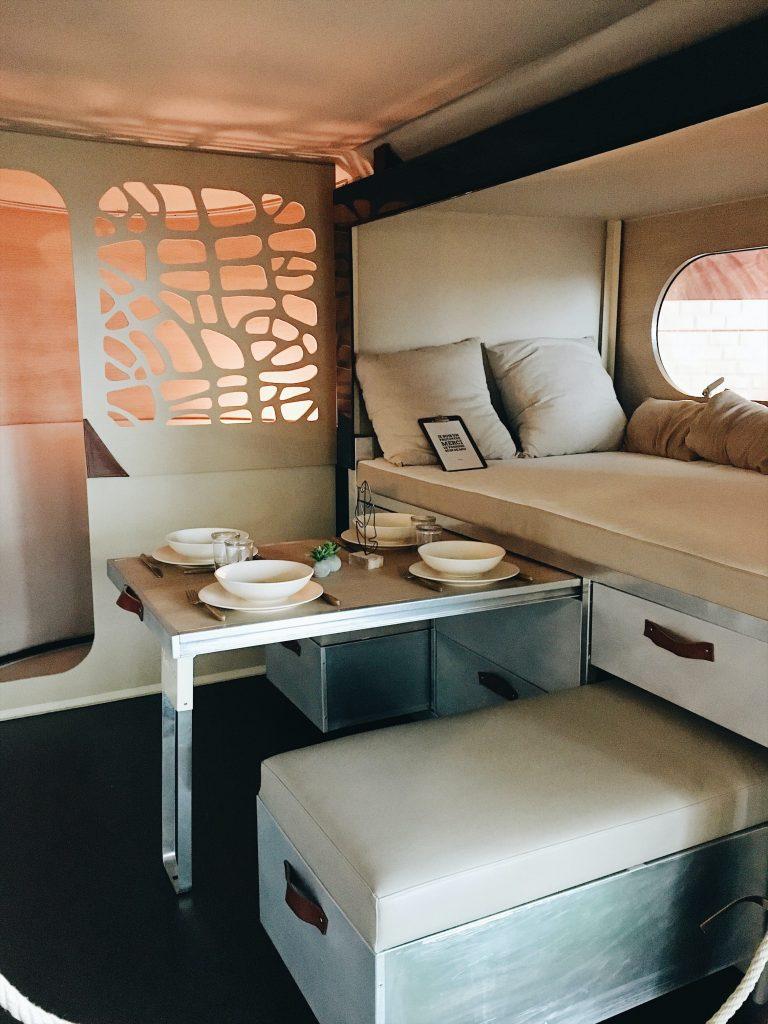 slide out campervan table
