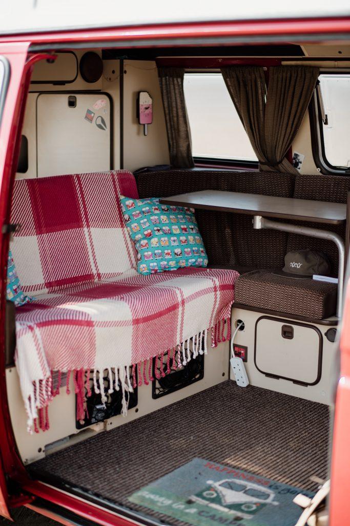 campervan table